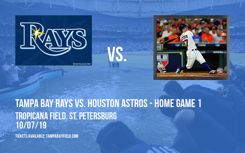 ALDS: Tampa Bay Rays vs. Houston Astros - Home Game 1 (If Necessary) at Tropicana Field