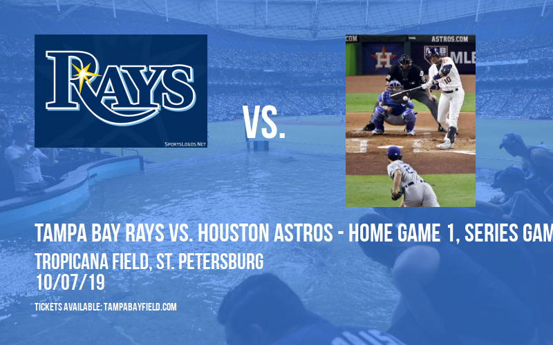 ALDS: Tampa Bay Rays vs. Houston Astros - Home Game 1, Series Game 3 at Tropicana Field