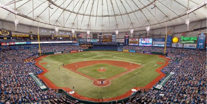 Tampa Bay Rays vs. Boston Red Sox at Tropicana Field