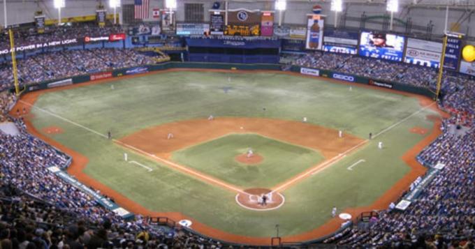 Tampa Bay Rays vs. Miami Marlins at Tropicana Field